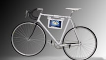 New Samsung Galaxy Tab 10.1 holder comes with bike attached