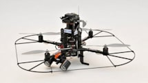 Secom offers a private security drone, serves as our eyes when we're away
