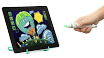Griffin and Crayola intro contact-free Light Marker, drawing workstations