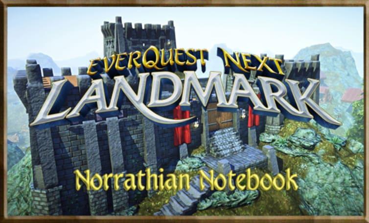 Norrathian Notebook: Preparing yourself for EQN Landmark
