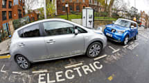Here's maps will help you find available EV charging stations