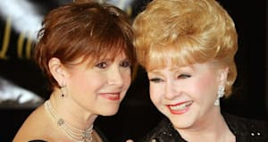 watch the golden globes tribute to carrie fisher and amp debbie reynolds