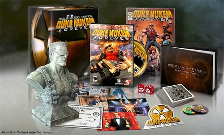 Duke Nukem Forever 'Balls of Steel' Edition: Is this some kind of bust?