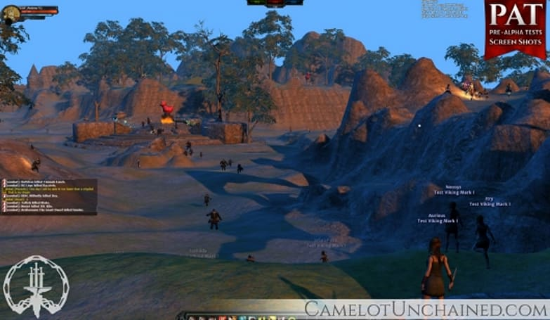 Camelot Unchained tackles building systems, ability crafting