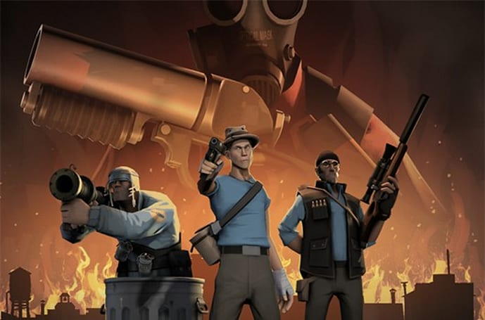 Finally, you can officially meet Team Fortress 2's Pyro