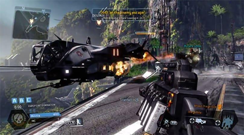 Titanfall Mythbusters: A falling titan can destroy an evac ship