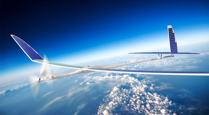 Google's solar plane crashed due to wing failure