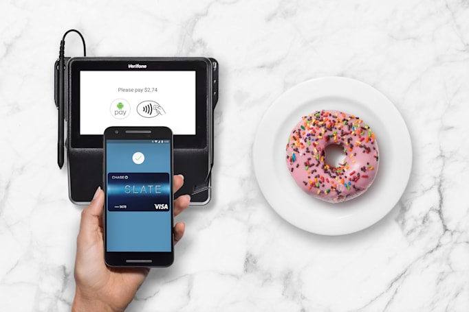 Android Pay hits the web via Chrome