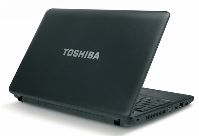 Toshiba Satellite C655D puts AMD Fusion in a big boy laptop