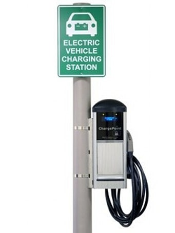Coulomb gets in an Empire State of mind, switches on NYC's first public EV charging station