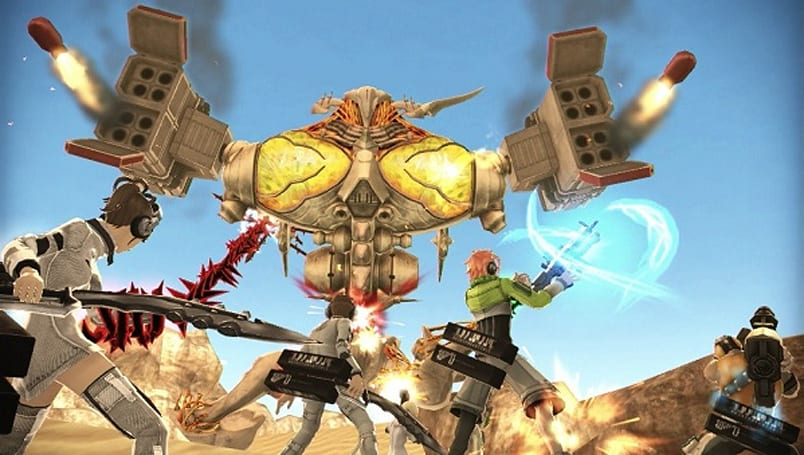 Vita action game Freedom Wars offers Japanese audio only