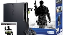 Sony's barebones $299 Call of Duty: MW3 and 320GB PS3 bundle hits the streets May 25th
