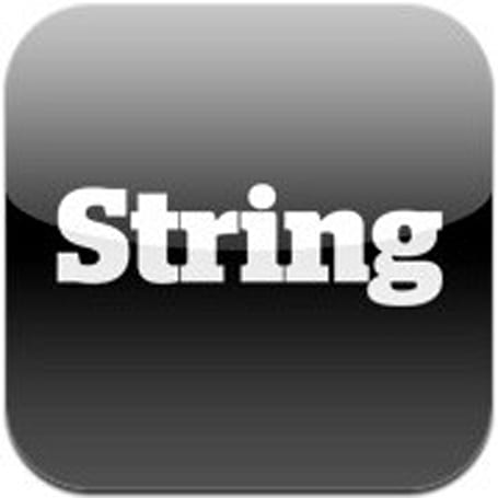 String Labs' augmented reality showcase app for iPhone