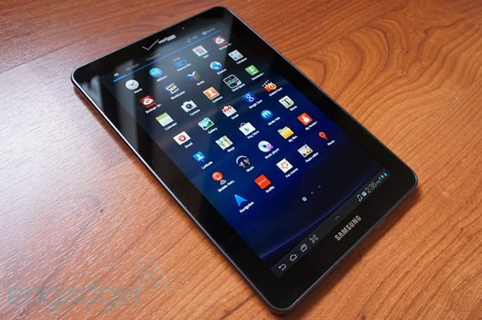 Samsung Galaxy Tab 7.7 review (Verizon Wireless LTE)