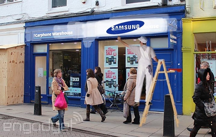 Samsung opening 60 more brick-and-mortar stores across Europe