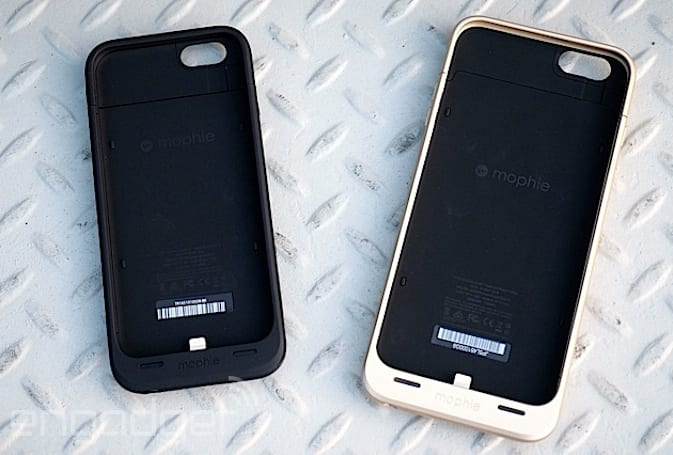 Mophie introduces new battery cases for the iPhone 6 and 6 Plus