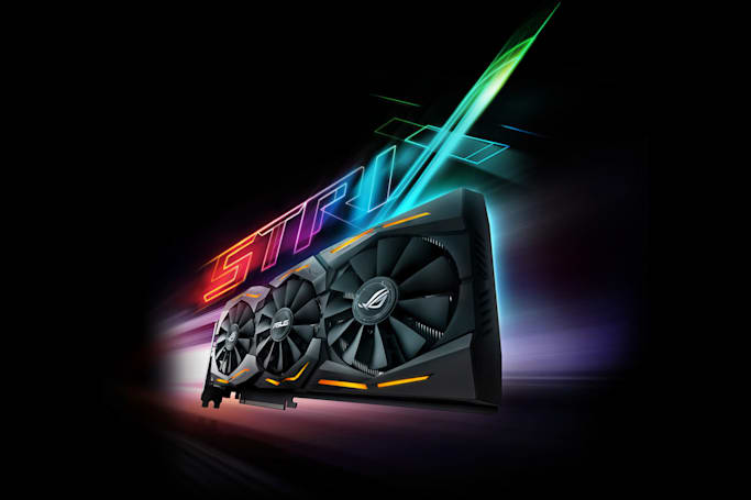ASUS' GeForce GTX 1080 is faster and more colorful