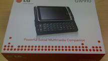 LG's Windows Phone 7 caught in some early packaging, to be dubbed GW910? (update: video!)