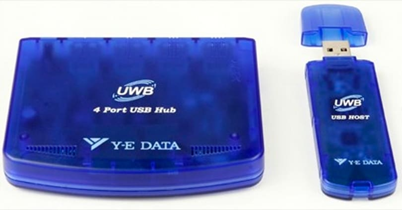 Y-E Data's YD-300 WUSB-HUB: Japan's first wireless USB hub
