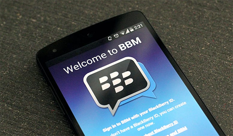 BlackBerry targets developing markets with Gingerbread BBM app
