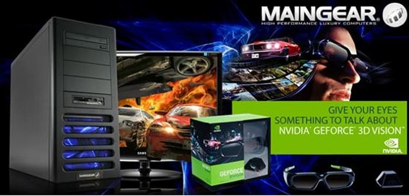 Maingear intros Prelude 2 3D gaming system