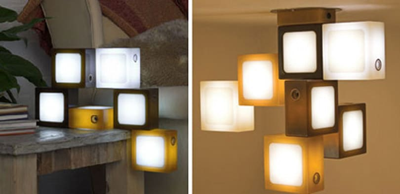 Glide's Twist-Together decorative LED light cubes