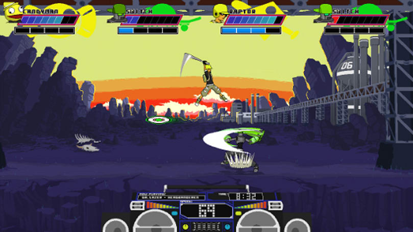 Lethal League is part fighting game, part ball game