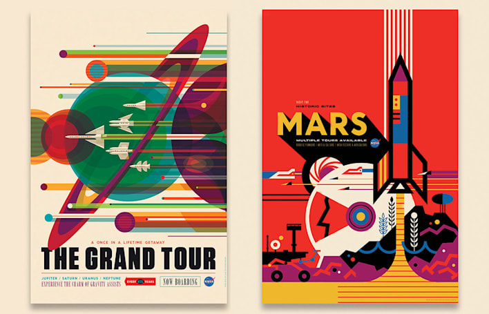 NASA's space tourism posters will make you want to suit up