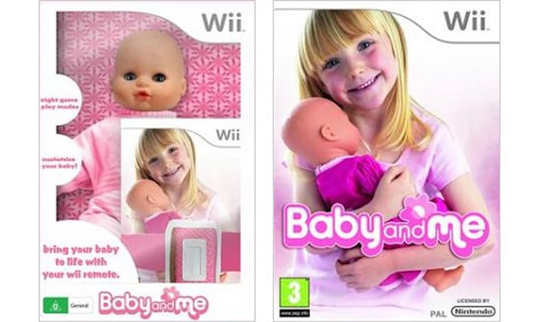 'Baby and Me' special edition includes Wiimote-ready doll