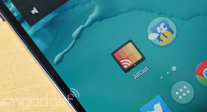 AllCast will let you mirror any Android phone's screen on your PC