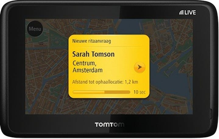 TomTom confirms new taxi-ordering service, beginning trial rollout in Amsterdam