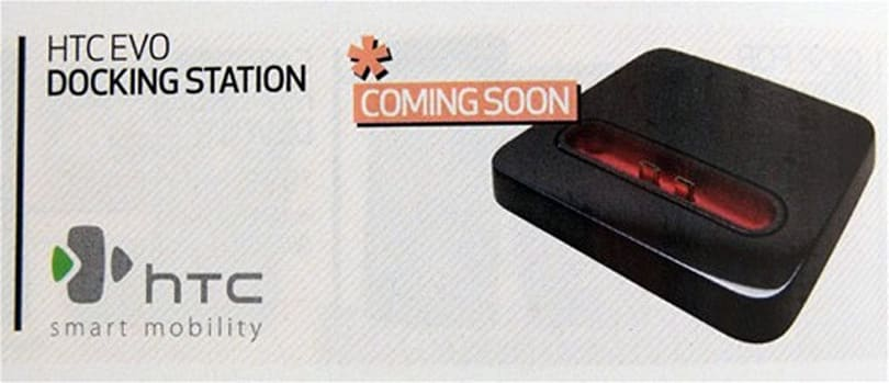 HTC EVO 4G will have a HDMI dock, sold through Best Buy