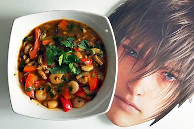 'Final Fantasy XV' is actually a cookbook