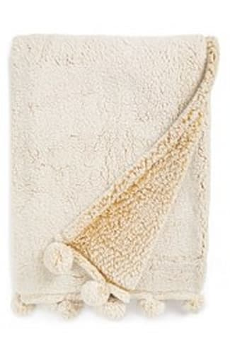 Frosted' Faux Shearling Throw