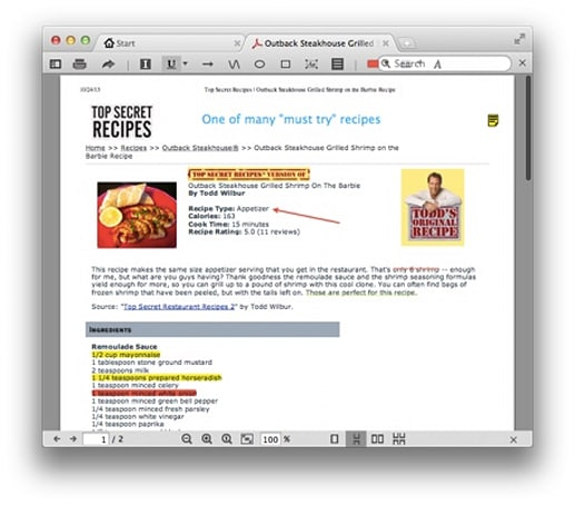 Daily Mac app: PDF Reader X is a lightweight, tabbed PDF reader with some annotation features