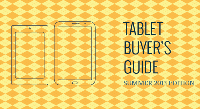 Engadget's tablet buyer's guide: summer 2013 edition