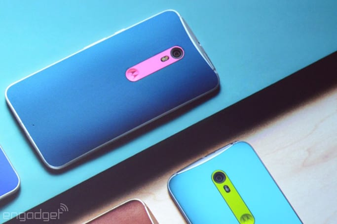 The Moto X Style is big, gorgeous and (of course) highly customizable