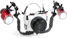 Panasonic GF1 is ready to take the plunge Big Daddy style with the INON X-2 waterproof housing