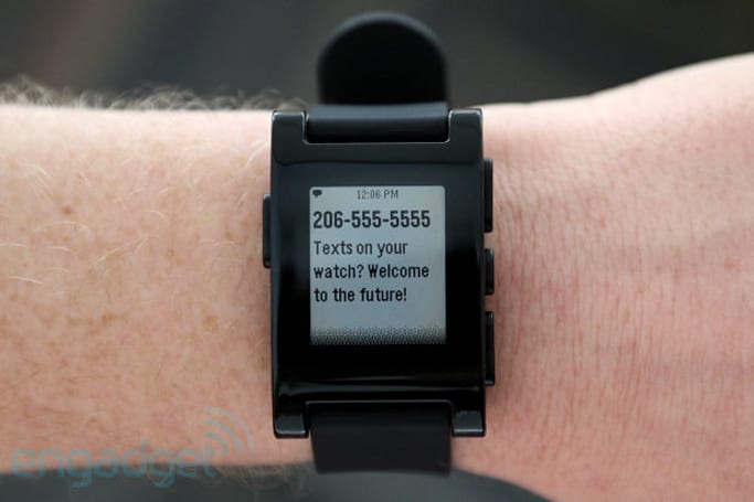 Pebble watch pulls all notifications from the iPhone, but only if you jailbreak