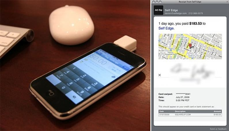 Square iPhone Payment System turns your phone into credit card reader