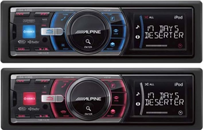 Alpine announces iDA-X200 and X300 iPod-friendly headunits for 2008