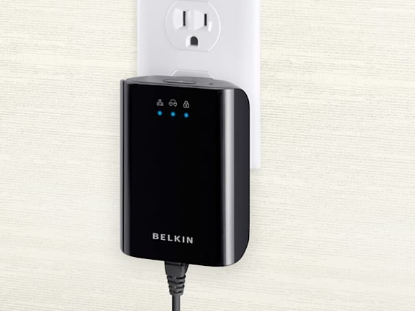 Belkin's Gigabit Powerline Adapter ups the ante for electrical outlet networking
