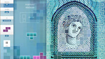 How do you promote a new banknote? With 'Tetris,' of course