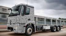 Mercedes-Benz zeigt ausgewachsenen Elektro-Laster