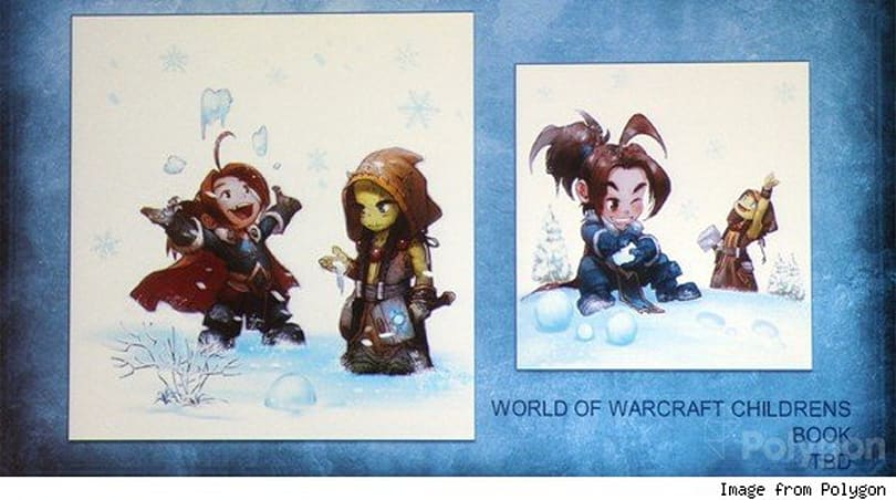 World of Warcraft children's book announced at SDCC