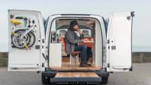 Nissan's latest EV conceals the hottest of hot desks