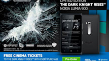 Batman Nokia Lumia 900 priced at £600, throws in some free movie tickets