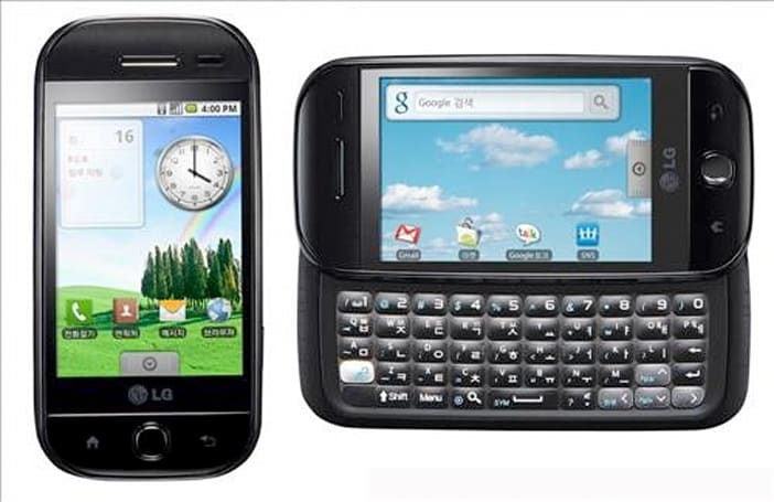 LG Andro-1 is a GW620 with a Korean keyboard, funnier name