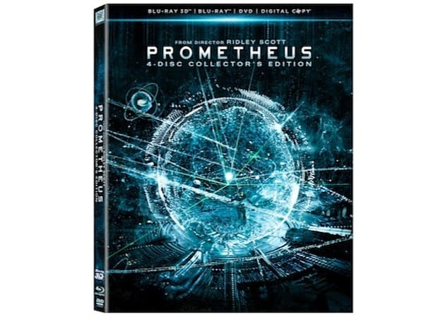 Prometheus Blu-ray specs unveiled, arrives with seven hours of extras October 9th (video)