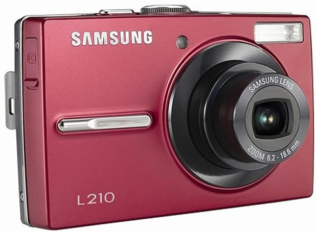 Samsung launches 10.2-megapixel L210 point-and-shoot